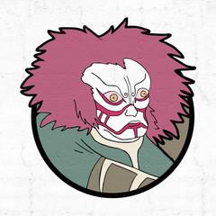 oriental mask face