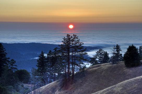 Elk Creek Sunset