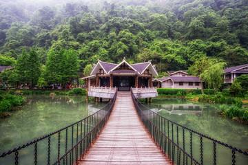 zhangjiajie huanglongdong scenic area