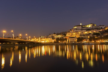 View on Coimbra in Portugal