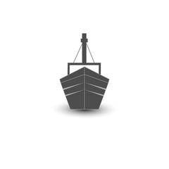 Ship icon. Vector illustration.