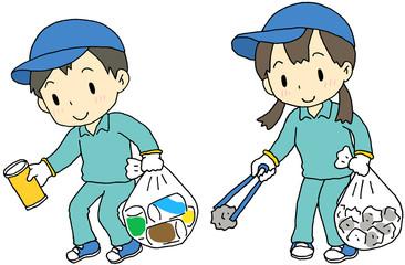 ゴミ拾い 子供