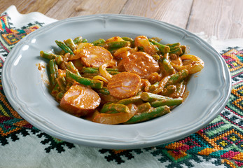 paprikash with green beans