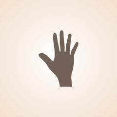Icon Of Hand.
