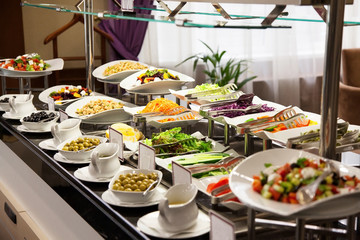 Restaurant buffet photo fresh food 1