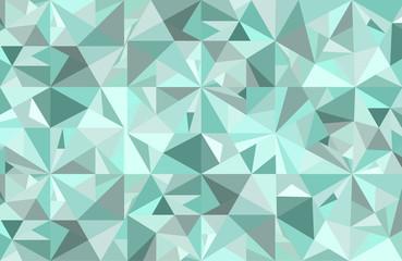 Abstract blue diamond vector geometric art background