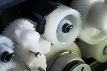 Reparatur eines Druckers - Zahnradgetriebe