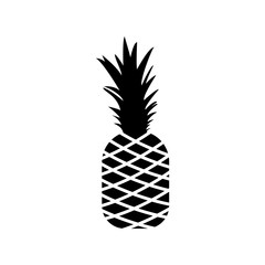Pineapple icon - Vector