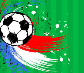 soccer / football, design template, free copy space, with soccer