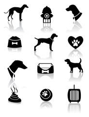Vet Dog cat et Icon EPS vector