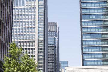 写真素材「丸の内の高層ビル群」