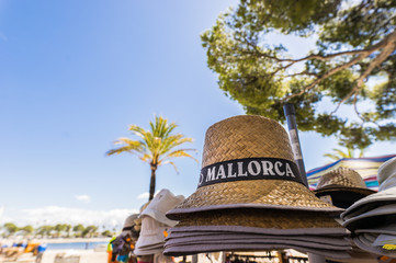 Mallorca Hut Strand Urlaub