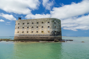 Fort Boyard in the Strait of Antioshe, France