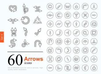 60 arrow icons