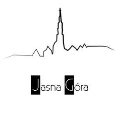 Jasna Góra / Klasztor Jasnogórski - panorama