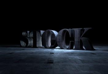 Stock, 3D