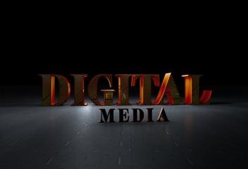 Dijital Medya, 3D Yazı