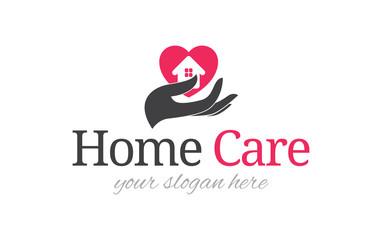 Home care logo template