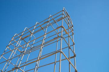 Steel rod cage