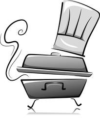 Chafing Dish Chef Hat