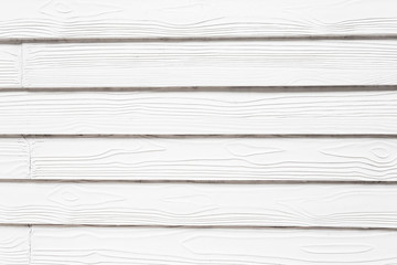 White wood on wall background texture.