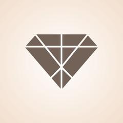 Icon Of Diamond .