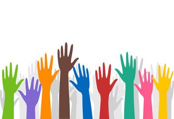 Hands Volunteers Raise