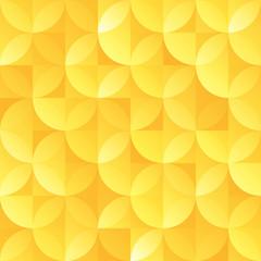 vintage gold retro seamless sircle shape vector pattern