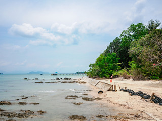 Unseen Thailand in Koh Phayam Have a  landmark and Viewpoint Nature, Sea, Sky at Rayong Province, Thailand
