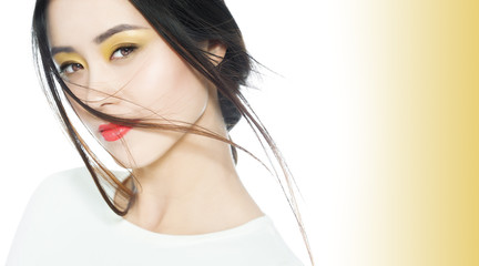 Beautiful Colorful Asian Makeup