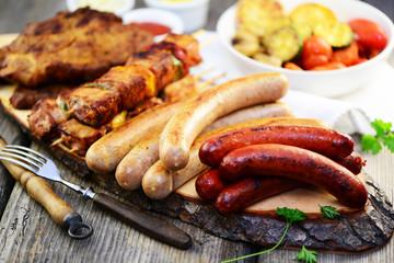 Photo sur Plexiglas Grill, Barbecue Grillparty