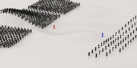 Big data world / Digital battle