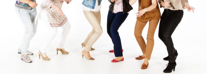 Frauen beim Tanzen