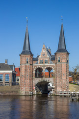 Fotomurales - Water gate in the historical city Sneek