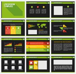 Business Template brochure
