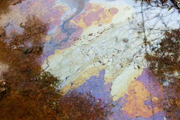Contaminated underground water is alternative water source.