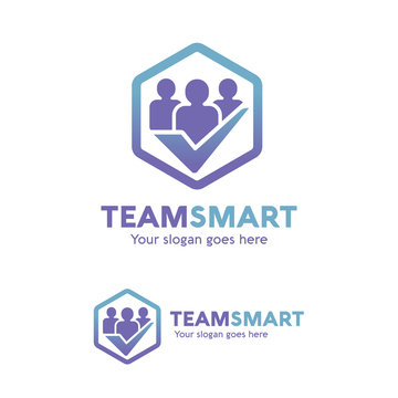 Team Smart People Check Logo