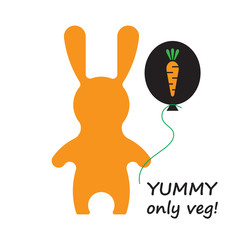 Veg rabbit 1