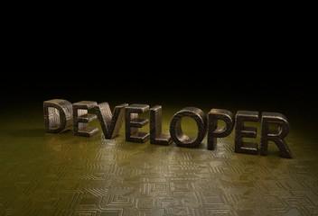 Developer, 3D