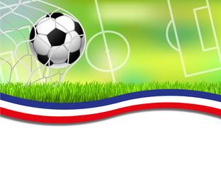 Fussball Hintergrund Frankreich