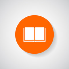 Book icon - Vector