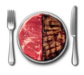 Steak Dinner Symbol