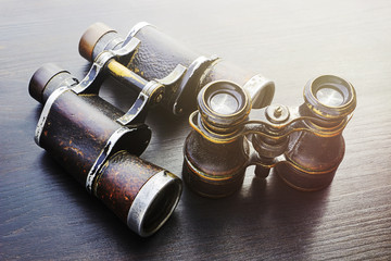 Field glasses