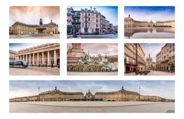 Carte postale de Bordeaux, Aquitaine en France
