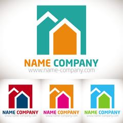 logo maison construction artisanat artisan décorateur