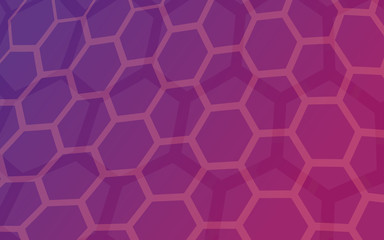 honeycomb Purple color cool tone  background abstract vector art pan tone 2016