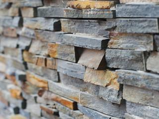 pattern of decorative modern stone wall background