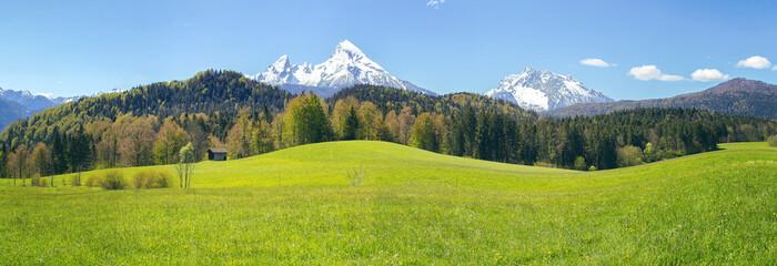 Wall Mural - Watzmann - Berchtesgadener Alpen - Wanderung Maria Gern