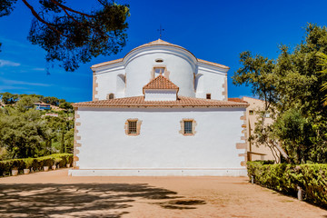 L'ermitage Santa Cristina à Blanes