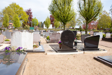 Friedhof in Holland